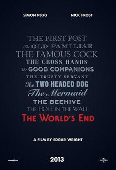 Simon Pegg, Edgar Wright film 'The World's End' gets greenlight, poster | Inside Movies | EW.com