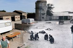 D-Day Landing Sites Then And Now: 11 Striking Images That Bring The Past And Present Together