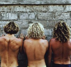"""Natural hair colors """"The different levels of salt and sun by @jayalvarrez A x"""""""