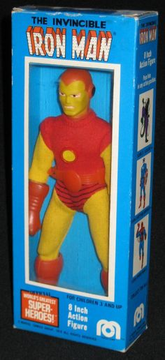 1974 Iron Man (World's Greatest Super-Heroes) action figure by Mego