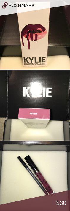 LAST TWO Kylie Kourt K Purple/ plum color Kylie Cosmetics Makeup Lipstick