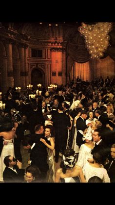 1966: Truman Capote's Black and White Ball at The Plaza New York, by Elliot Erwitt