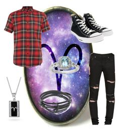 """""""Gate of the Snow Prince"""" by crazykaylie on Polyvore featuring Topman, Yves Saint Laurent, Bling Jewelry, MIANSAI, Converse, Belk & Co., men's fashion and menswear"""