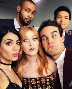 Isaiah, Harry, Emeraude, Katherine and Alberto / Alberto's face haha.