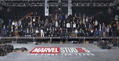 Marvel Studios 10th Anniversary class photo high res