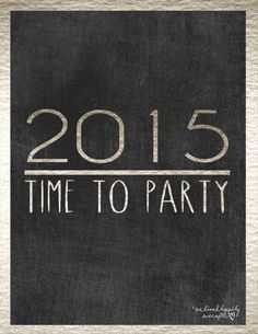 We Lived Happily Ever After: Free New Years Printables!
