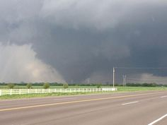 A massive and violent tornado 1.3 miles wide smashed through Moore, Oklahoma near 3 pm CDT Monday, causing catastrophic damage along a 17-mile long path. The National Weather Service in Norman, Oklahoma announced that it has found at least one area of EF-5 damage near Briarwood Elementary School, with winds of 200 - 210 mph.