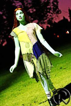 Disfraz de Sally, la muñeca de trapo