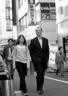 Bill Murray and Sofia Coppola, Lost in Translation.