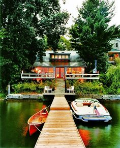 New York lake house by Thom Filicia.