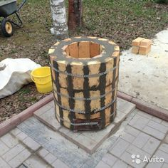 Cajun Microwave, Tandoor Oven, Outdoor Projects, Outdoor Decor, Stove Oven, Rocket Stoves, Outdoor Cooking, Hearth, Handmade Crafts