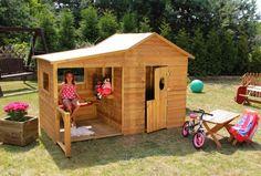 Baumotte Spielhaus Holz Spielhaus Garten - Kinderspielhaus Heidi