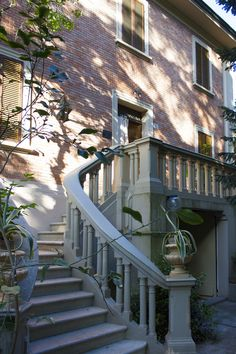 Home - Ceramica Senio Liberty House, Terrace, Art Nouveau, Palace, Villa, Stairs, Lovers, Antiques, Style