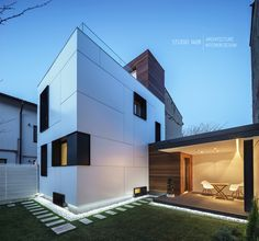 Spectacular R House Rehabilitation by Studio1408, Bucharest, Romania