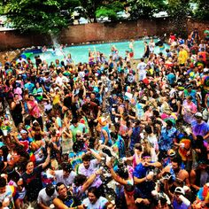 Ole Miss students doing what they do best!