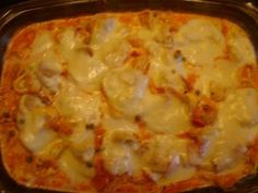 Tortellini-Auflauf - Food and drink - Tortellini Hawaiian Pizza, Lasagna, Cauliflower, Macaroni And Cheese, Food And Drink, Pasta, Vegetables, Ethnic Recipes, Butter