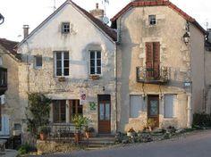 "Flavigny-sur-Ozerain,  Cote d'Or, France ~ location where ""Chocolat"" was filmed"