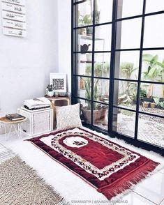Home Renovation Ideas – Interior And Exterior - Home Remodeling Home Room Design, Home Interior Design, House Design, Interior Paint, My Living Room, Home And Living, Prayer Corner, Islamic Decor, Beautiful Home Designs