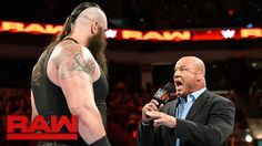 Kurt Angle makes it official LIVE on WWE Raw...  Roman Reigns is out for PAYBACK against Braun Strowman in two weeks!