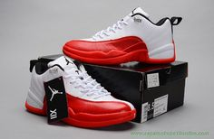 3ca6811dd1b sites de lojas de tenis Vermelho Branco AIR JORDAN 12 RETRO LOW Jordan  Shoes For