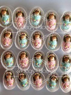 Almendras Angelitas en colores pastel