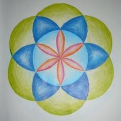 Age 12 ~ Geometric Drawing ~ Six Division of Circle ~ main lesson book