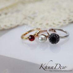 แหวนชุด 3 สีมิกแอนแมท