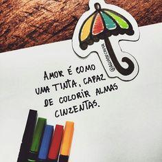 Que todos possam ter um domingo colorido com muito amor no coração! ♥ @Regrann from @aguadechuva  -  Amor é como uma tinta, capaz de colorir almas cinzentas. Colorir almas , gerar sorrisos. Multiplicar felicidade.  #aguadechuva #artecomoterapia #arteterapia #terapiadascores #bomdia #colorindo #colorido #colorir #livrodecolorir #lapisdecor  #amor #instaart #instacoloring #colorindooinstagram #colorirfazbem #amocolorir #Regrann