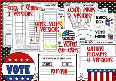 Election fun unit for young learners!  It's time to teach these youngsters about democracy!$