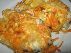 Рыба запеченная с сыром духовка