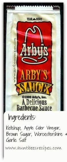 Arbys sauce