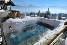 Poolandspa.com LeCrans Hotel and Spa pool - Crans Montana, Switzerland