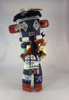 The Left HandKachina does everything backwards, wearing the quiver in the wrong direction.