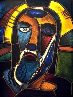Karl Schmidt-Rottluff  Cabeza de Cristo, 1919