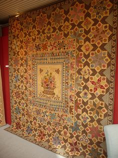 France-Patchwork Charente, antique quilt for inspiration Old Quilts, Antique Quilts, Vintage Quilts, France Patchwork, Civil War Quilts, Basket Quilt, Sampler Quilts, Traditional Quilts, Hexagon Quilt
