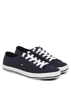 TOMMY HILFIGER FOOTWEAR Diama 1D Sneaker Dunkelblau - Sneaker - Schuhe - Damen - Trendfabrik