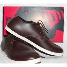 Sepatu Tali Warna Coklat - Harga Grosir Murah