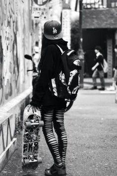 skater girl fashion - Buscar con Google
