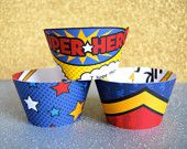 Just bought these for Bobby and Lily's super hero party!!