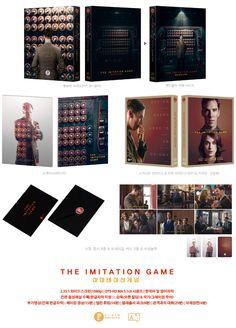 [알라딘][블루레이] 이미테이션 게임 : 렌티큘러 풀슬립 한정판 (디자인A) - 소책자(40p) + 스틸엽서(6종) + 트레이딩카드(2종)