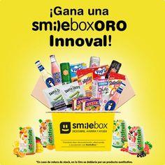 Testamig@s, hoy nos hacemos eco del concurso de @smilebox.es. Puedes ganar una de las 5 #SmileBoxInnoval gracias a tu creatividad. Escribe un texto del producto que más te gusta de la selección. Escógelo entre los seleccionables de esta caja presentada junto a Alimentaria - Salón Internacional de la Alimentación y Bebidas para dar a conocer los productos más innovadores del sector de la alimentación. Mándanos tu texto a través de la aplicación del concurso. Los relatos, odas, poemas…