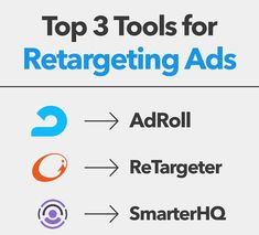 Top 3 tools for retargeting Ads. Online Marketing Services, Best Digital Marketing Company, Seo Services, Internet Marketing, Social Media Marketing, Nyc, Branding, Tools