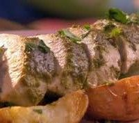 Excellent Roast Turkey with Pesto