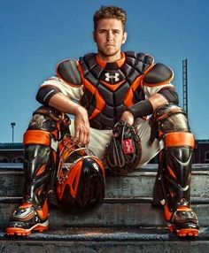 Buster Posey, San Francisco Giants...I LOVE this picture...it's the background on my phone <3