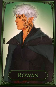 Rowan Whitethorn (Embers of Memory Card Game)