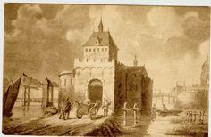 De Schiedamsche Poort in de andere richting