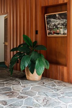After years living overseas, the couple who live in this modernist retreat with lush Japanese/California-inspired gardens still can't believe their luck. Mid Century Interior Design, Apartment Interior Design, Hotel Inspiration, House Styles, Palm Springs Mid Century Modern, House Inspiration, Retro Beach House, Case Study Houses, 60s Decor