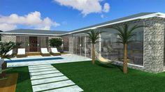 Projetos de Casas de Campo| Barbara Borges Projetos 3D