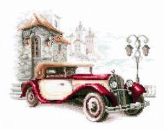 110-022 Ретро-автомобиль. Кадиллак - Чудесная игла