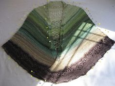 Ravelry: Project Gallery for Shetland Lace Patterned Faroese Shawl pattern by Jackie Erickson-Schweitzer